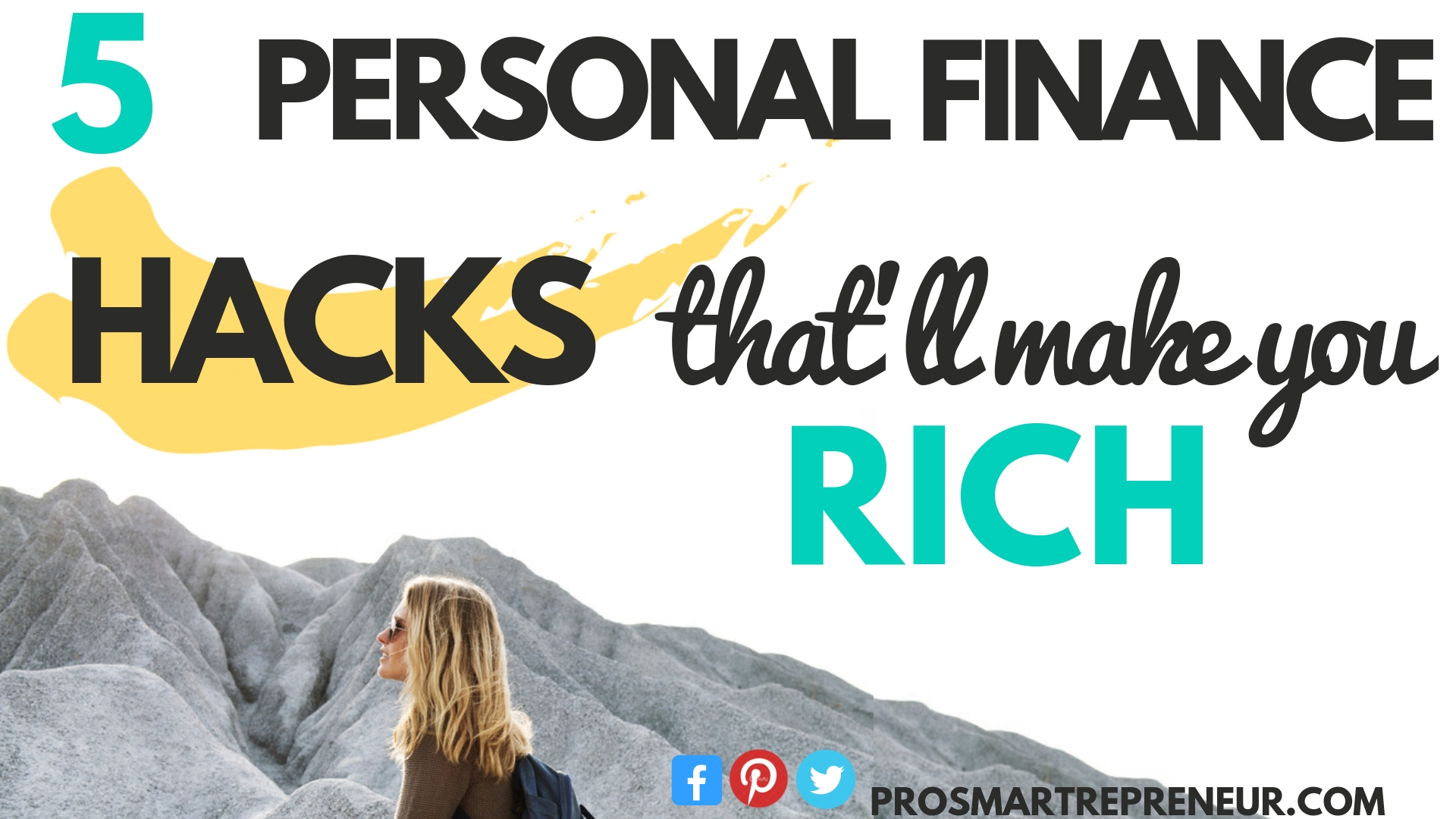 Personal Finance Hacks That Will Make You Rich (In One Year!)