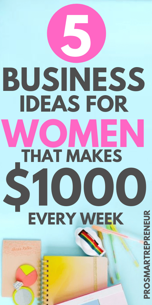 5 Lucrative Home Business Ideas for Women