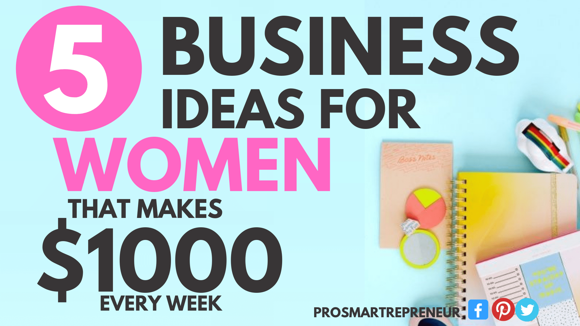 5 Lucrative Home Business Ideas for Women (3)-min