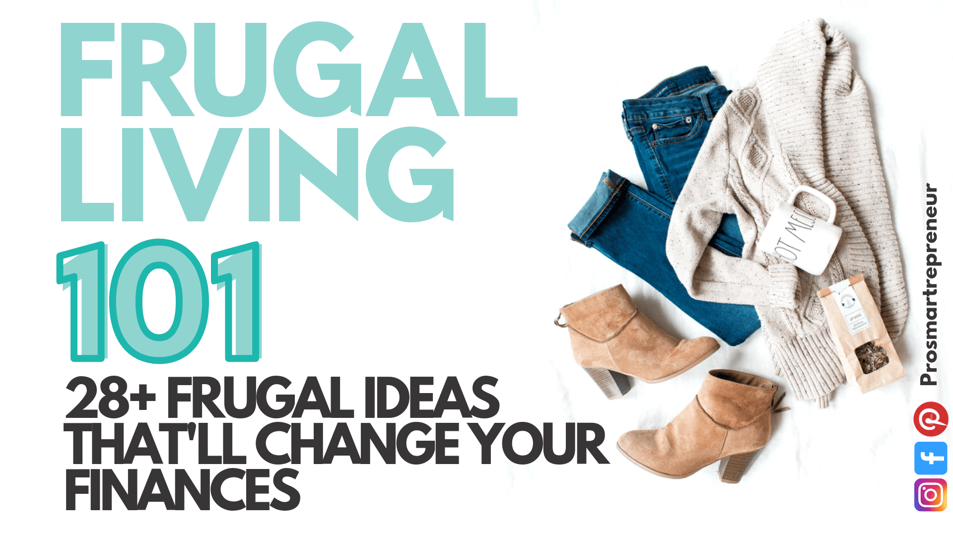 Frugal Living Ideas : 40 Frugal Ideas That'll Change Your Finances