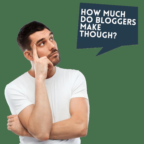How much do bloggers make: start a blog
